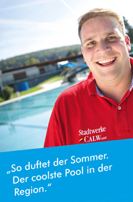 Der coolste Pool in der Region